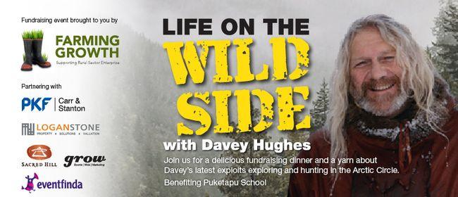 Life On the Wild Side - An Evening With Davey Hughes