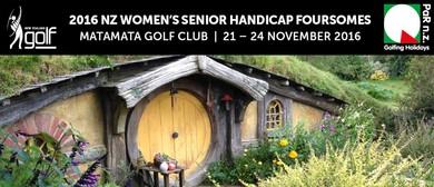2016 NZ Women's Senior Handicap Foursomes