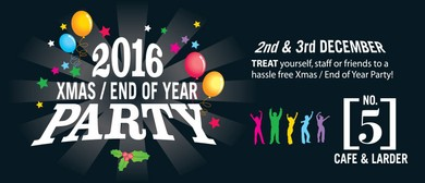 Bring Your Party to The Christmas Party 2016