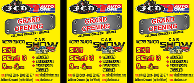 JCD Custom & Auto1 Grand Opening Car Show