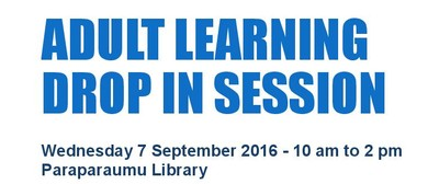 Adult Learning Drop In Session