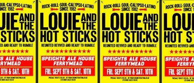 Louie and The Hotsticks 2016