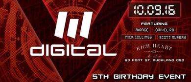 Digital 5th Birthday In Association With FX AV
