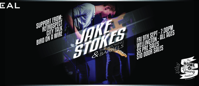 Jake Stokes & The Smoking Barrels EP Release (Zeal Welly)