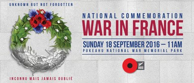 Marking the Centenary of the First World War in France