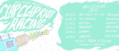 Clap Clap Riot & Racing New Zealand Tour