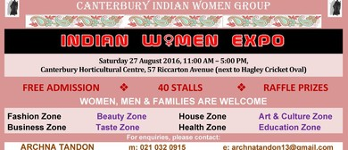Canterbury Indian Women Expo