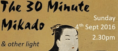 Nth Shore Chorale 30 Minute Mikado & Light Opera Favourites