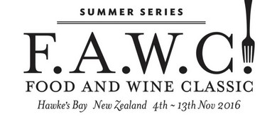 F.A.W.C! Homage to Hawke's Bay; Launch of 2014 Homage