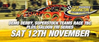 Demo Derby, Superstock Teams Race & Saloon Tri Series