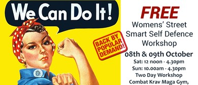 Women/Girls Free Self Defence 2 Day Workshop: SOLD OUT