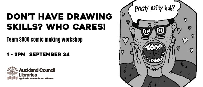 Comics Making Workshop With Team 3000