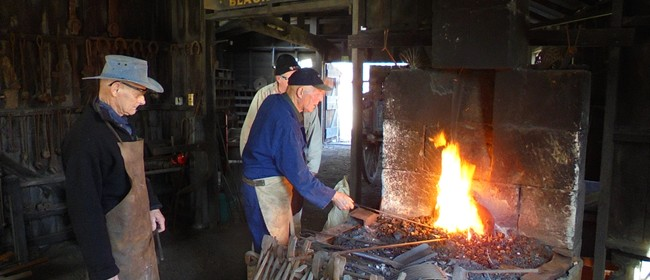 Blacksmiith Demonstration Day