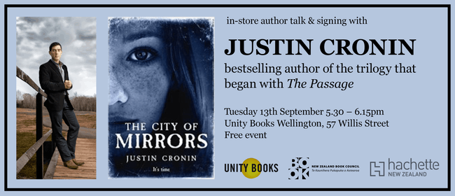Justin Cronin - In-store Author Talk & Signing
