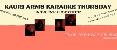 Kauri Arms Karaoke Thursday