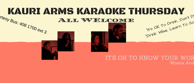 Kauri Arms Karaoke Thursday