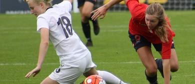 National Women's League Football - WaiBOP vs Canterbury Utd