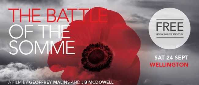 The Battle of The Somme Screening with NZSO