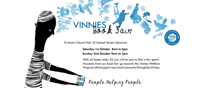 Vinnies Book Fair