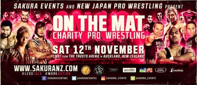 """On The Mat"" Charity Professional Wrestling"