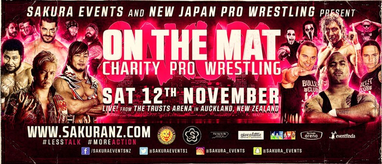 """""""On The Mat"""" Charity Professional Wrestling"""