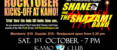 Rocktober Kicks Off At Kamo With Shane & the Shazam Band