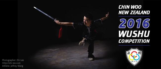 2016 Chin Woo NZ Wushu Kung Fu Tournament