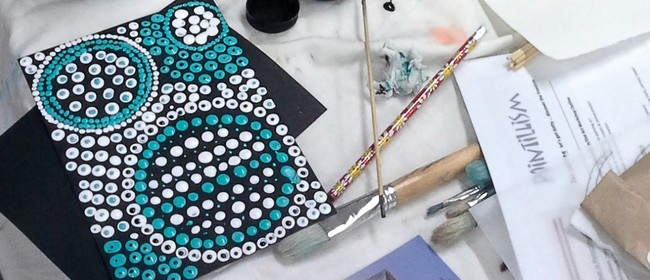 Modern Dot Painting Art Workshop for Adults