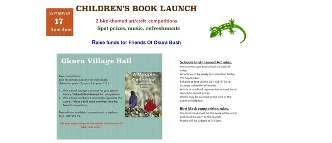 Children's Book Launch and Mask Making Competition