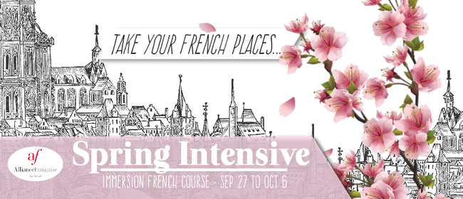 Spring Intensive Immersion French Course