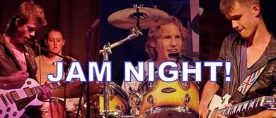 September Jam Night - MC Julie Lamb