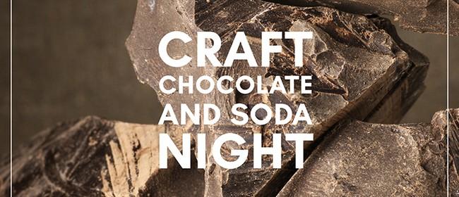 Craft Chocolate and Soda Tasting