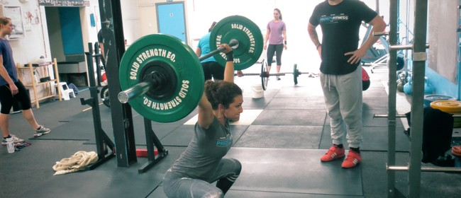 Sparta Olympic Lifting Class