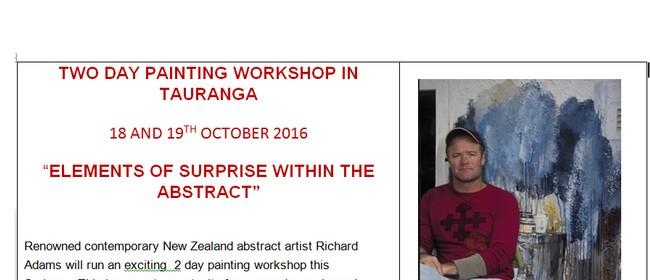 Painting Workshop with Richard Adams