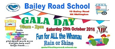 Bailey Road School Gala