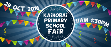 Kaikorai Primary School Fair