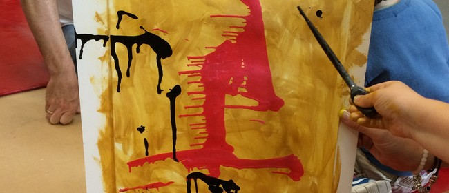'Switching Up – Painting Exploration' for 5 Year Olds