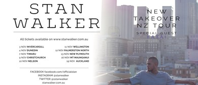 Stan Walker New Takeover Tour