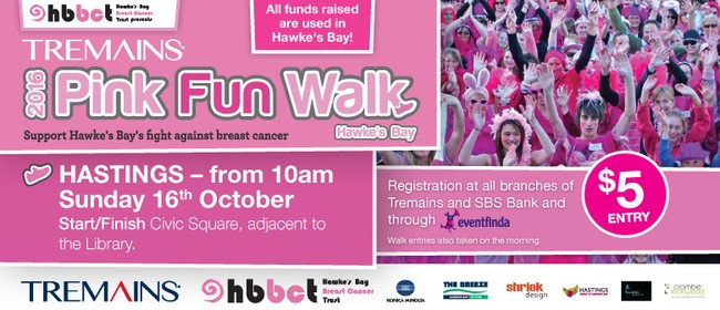 Tremains 2016 Pink Fun Walk