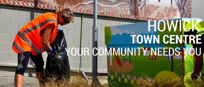 Howick Town Centre Clean-up
