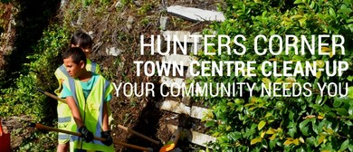 Hunters Corner Town Centre Clean-up