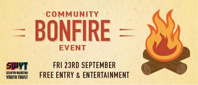 Community Bonfire Event