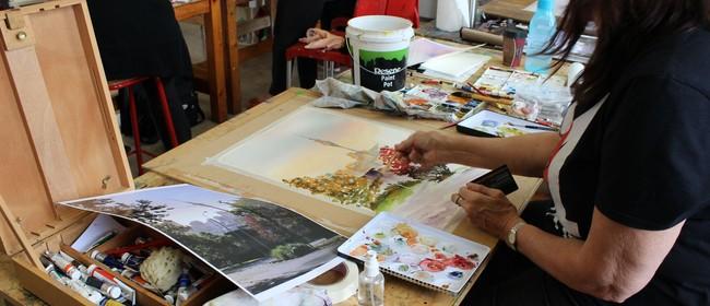 Studio One Toi Tū - Watercolour Workshop