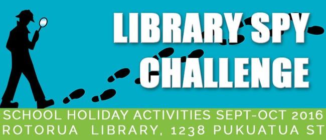 Library Spy Challenge