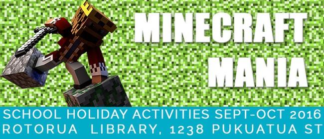 Minecraft Mania Pumpkin Paper Weaving