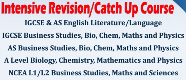 Intensive Revision Courses CIE & NCEA