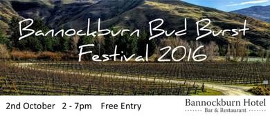 Bannockburn Bud Burst Festival 2016