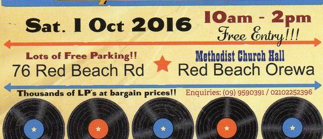 Vinyl Record Sale - Red Beach Orewa Hibiscus Coast