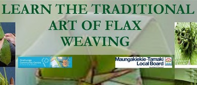 Art of Māori Weaving Classes