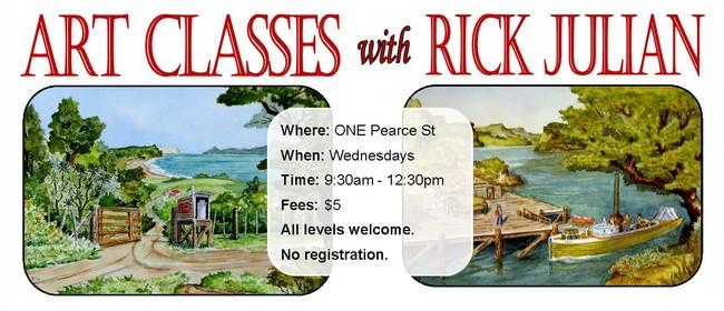 Art for Pleasure - Art Class With Rick Julian